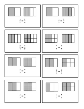 Equivalent Fractions Brain Break Activity