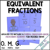 Equivalent Fractions Card Game