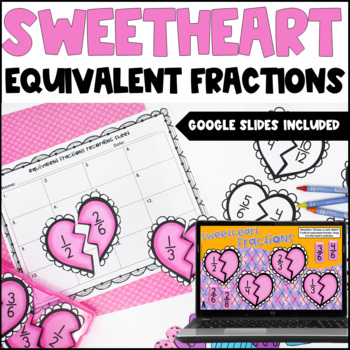Equivalent Fractions Center {Valentine's Day Freebie}