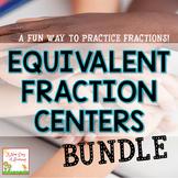 Equivalent Fractions Centers Bundle