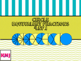 Equivalent Fractions: Circles