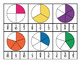 Equivalent Fractions Clip Cards {3.NF.3}