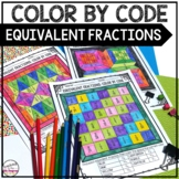 Equivalent Fractions Color By Code