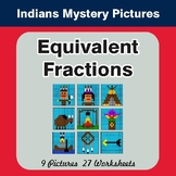 Equivalent Fractions - Color-By-Number Math Mystery Pictures