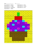 Equivalent Fractions Coloring