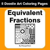 Equivalent Fractions - Coloring Pages | Doodle Art Math