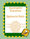 Equivalent Fractions Common Core Resource Pack
