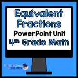 Equivalent Fractions Math Unit 4th Grade Common Core