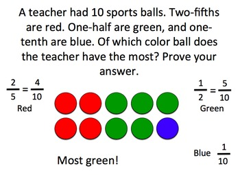 Equivalent Fractions/Comparing Fractions Review