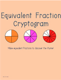 Equivalent Fractions Cryptogram