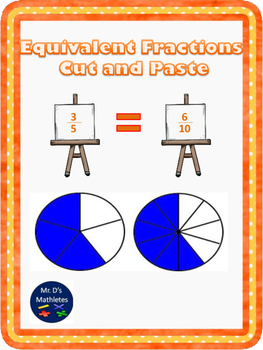 Equivalent Fractions Cut and Paste