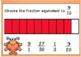 Equivalent Fractions DIGITAL Task Cards BOOM CARDS