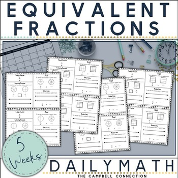 Equivalent Fractions Daily Math