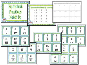 Fractions Decimals & Percents Matching Card Sets - 3 different sets!