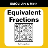 Equivalent Fractions - Emoji Art & Math - Draw by Number | Coloring Pages