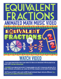 Equivalent Fractions | FREE Poster, Worksheet, Math Video & Song | 4th-5th Grade