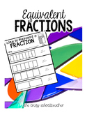 Equivalent Fractions Flip Books
