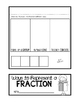 Equivalent Fractions Flip Books