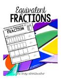 Equivalent Fractions - Flip Books