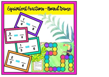 Equivalent Fractions Game Board