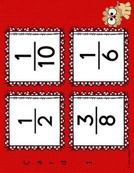 Equivalent Fractions Game ~ Easy Set Up