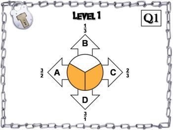 Equivalent Fractions Escape Room/ Math Activity