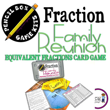 Equivalent Fractions Game - Pencil Box Game Kit