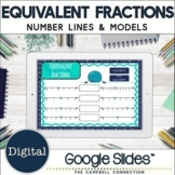 Equivalent Fractions Google Classroom | on a Number Line