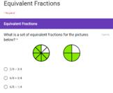 Equivalent Fractions Google Form