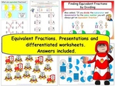 Equivalent Fractions Grade 3 NF.A.3