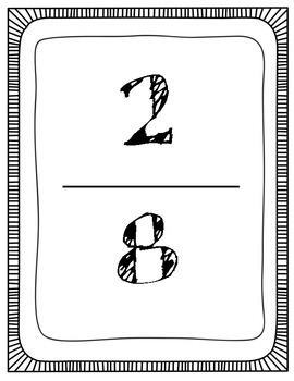 Equivalent Fractions Hop Scotch Game Activity CCSS 3.NF.3