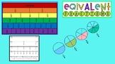 Equivalent Fractions Interactive Digital Notebook