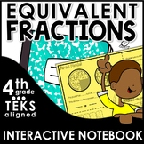 Equivalent Fractions Interactive Notebook Set