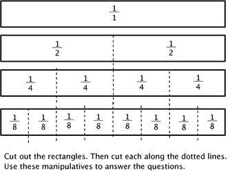 Equivalent Fractions Introduction Activity