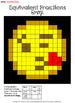 Equivalent Fractions Kissing Emoji