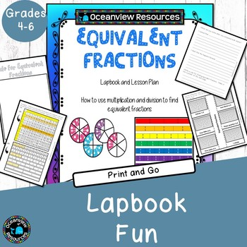 Equivalent Fractions - Lapbooks and Explorations
