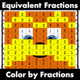 Equivalent Fractions /  Mustache Man