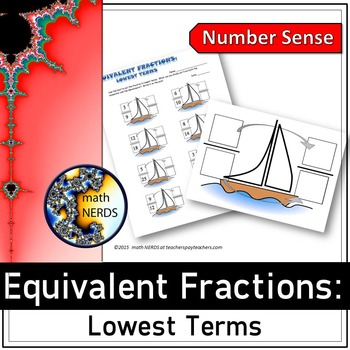 Equivalent Fractions: Lowest Terms - a power point lesson