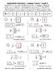 Equivalent Fractions - Lowest Terms Practice - Level 2 - FREE