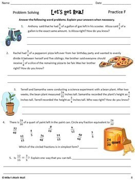 Equivalent Fractions Made Easy (Mini Bundle)