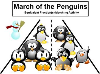 Equivalent Fractions Matching Activity