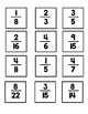 Equivalent Fractions Memory