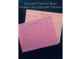 Equivalent Fractions, Mixed Numbers, and Improper Fractions