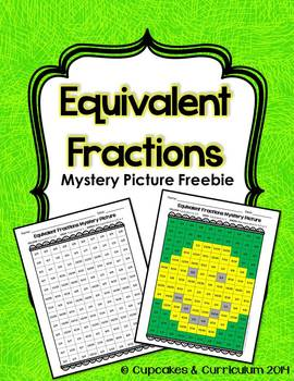 Equivalent Fractions Mystery Picture