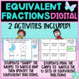Equivalent Fractions Name and Match **Digital** TEKS 3.3F