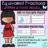 Equivalent Fractions Name and Match TEKS 3.3F