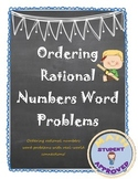 Equivalent Fractions; Order Rational Number Word Problems
