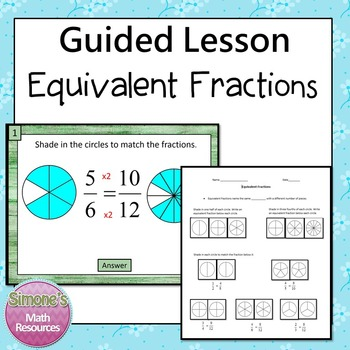 Equivalent Fractions Guided Lesson