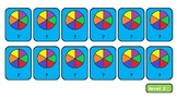 Equivalent Fractions Pairs Game