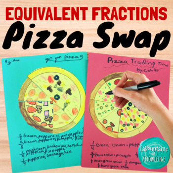Equivalent Fractions Pizza Swap Activity